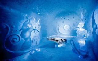 Vẻ đẹp ấn tượng bên trong khách sạn băng giá ở Thụy Điển 2
