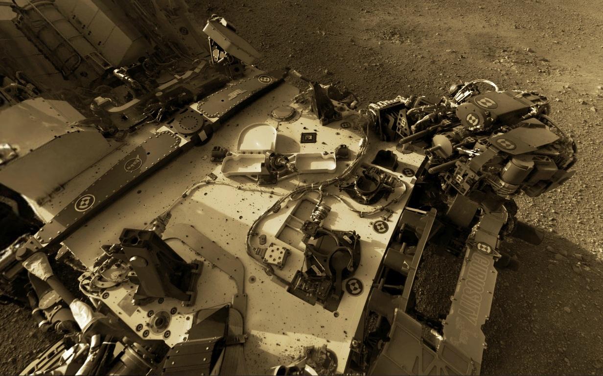 Stormtrooper: Mars Rover Panorama
