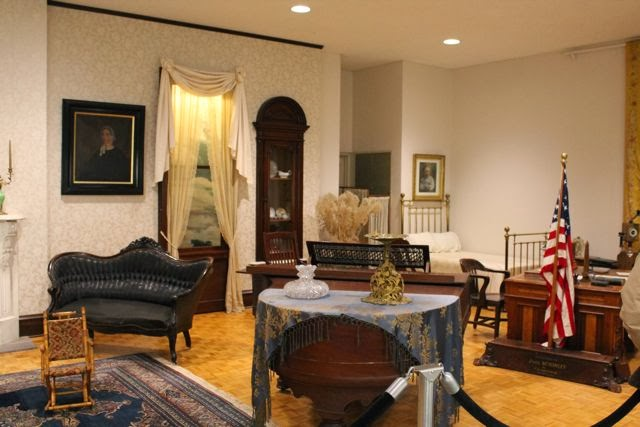 William McKinley Presidential Library and Museum via www.happybirthdayauthor.com