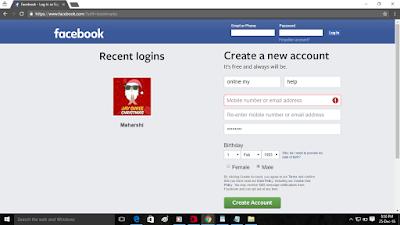 FaceBook par Unlimite IDS kaise bnaye without number-Amazing trick