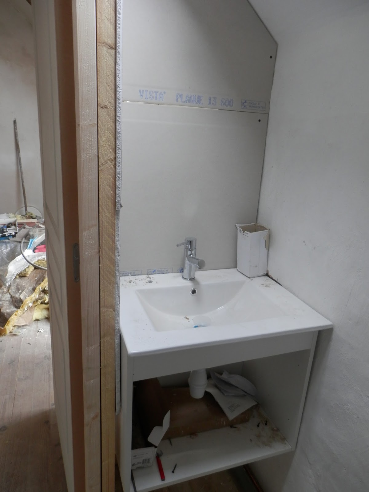 Renovation of a derelict house in brittany france for Bathroom renovation project