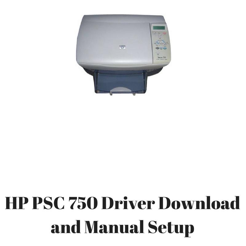 driver imprimante hp psc 750