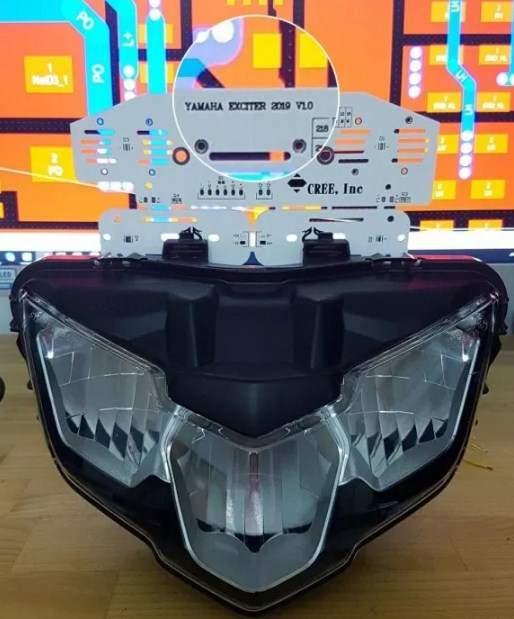 Lampu yamaha MX King 150 tahun 2019