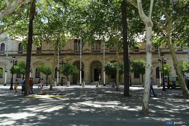 Sevilla, plaza Nueva