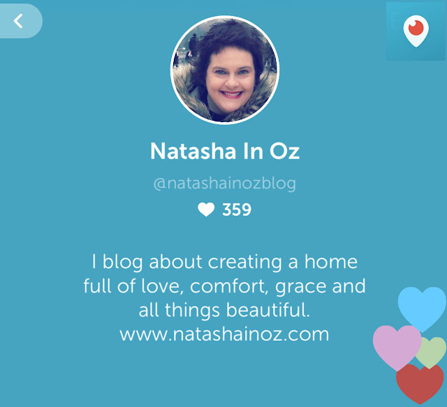 @natashainozblog is at Periscope!