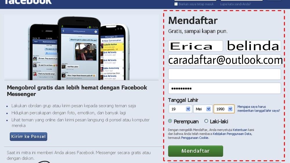 Cara Daftar Fb Cara Buat Akun Facebook Lengkap Dengan Gambar Ciriseo Net