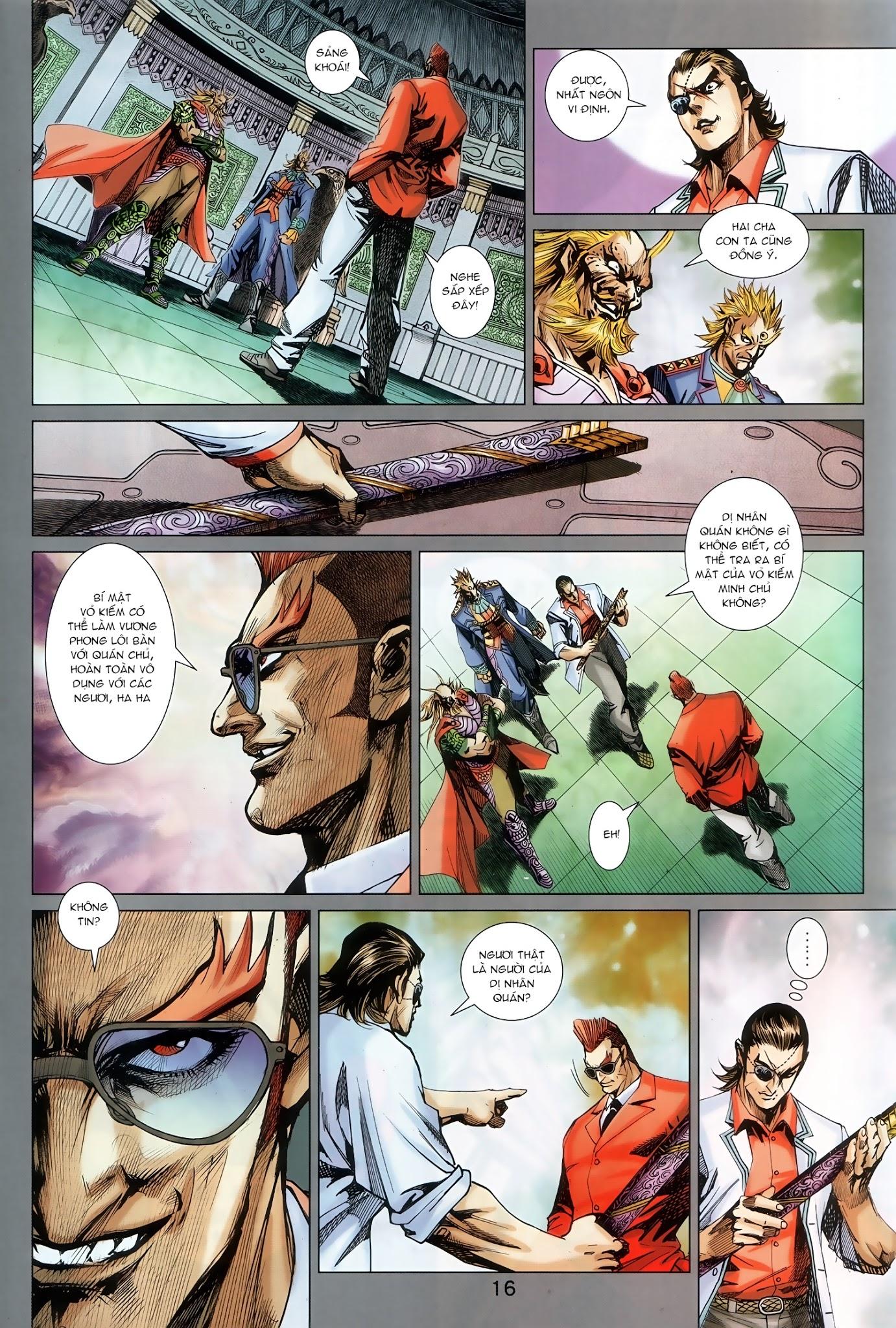 Tân Tác Long Hổ Môn chap 890.1 - Trang 16