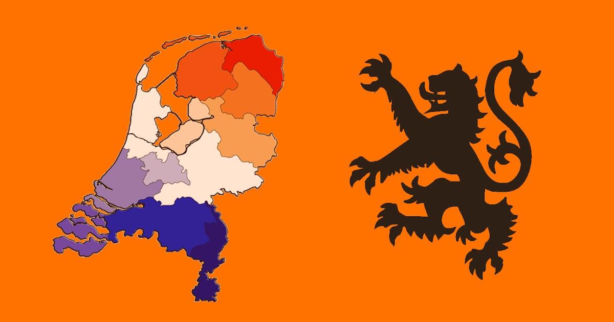 oranje achtergrond met leeuw mooie leuke achtergronden
