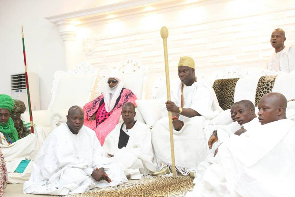 Ooni Of Ife Hosts Emir Of Kano, Lamido Sanusi In His Palace In Osun State (Pics)6