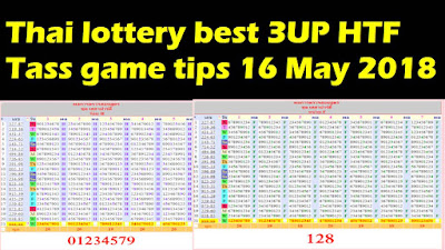 Thai lottery best 3UP HTF Tass