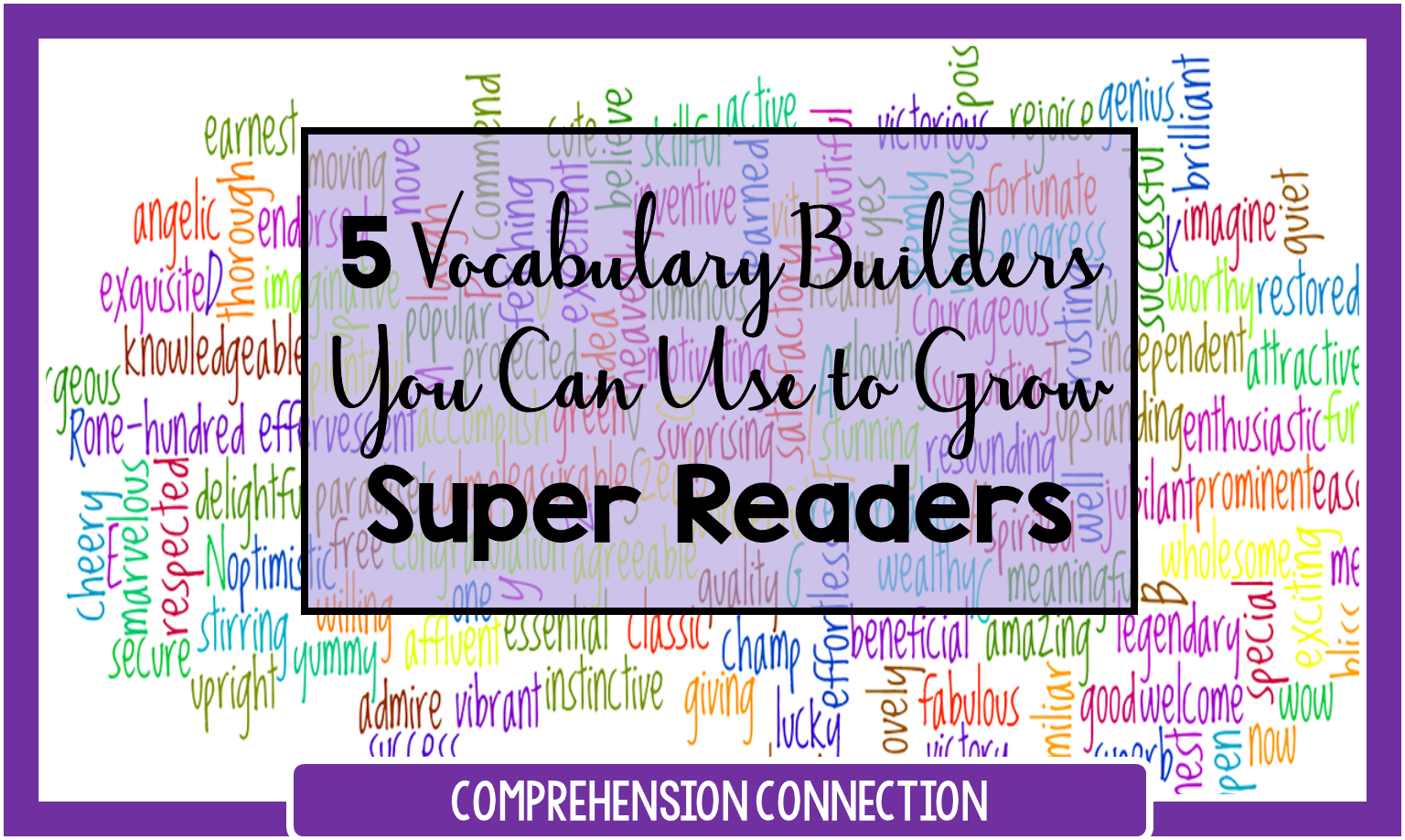 "Is vocabulary instruction a priority in your classroom? In this post, you'll learn why ""covering"" vocabulary just does not do."