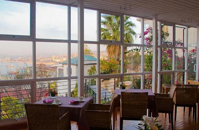 Hotel de luxo Zerohotel em Valparaíso