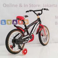 16 jack evergreen bmx sepeda anak