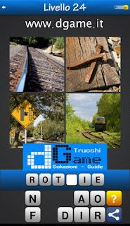 PACCHETTO 5 Soluzioni Trova la Parola - Foto Quiz con Immagini e Parole soluzione livello 24