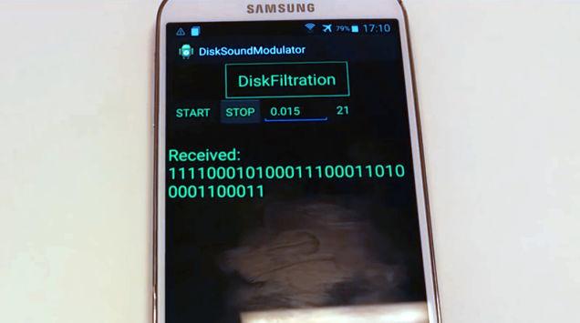 """طريقة جديدة للاختراق عن طريق""""ترشيح القرص"""" DiskFiltration"""