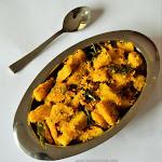 Kadachakka Thoran Recipe| Cheema Chakka (Breadfuit Thoran)| Onam Sadya Recipe