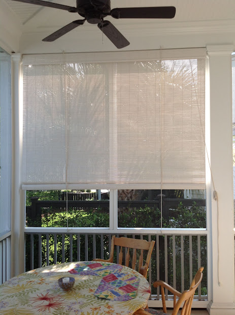 Blinds Screened-in-porch Shades