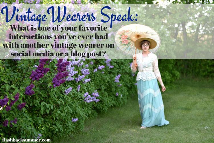 Flashback Summer: Vintage Wearers Speak