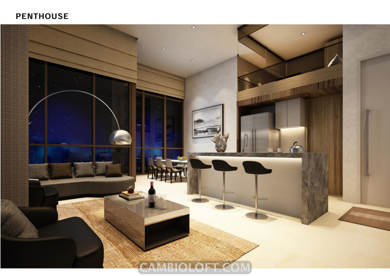 Penthouse Type Cambio Lofts Alam Sutera Apartment