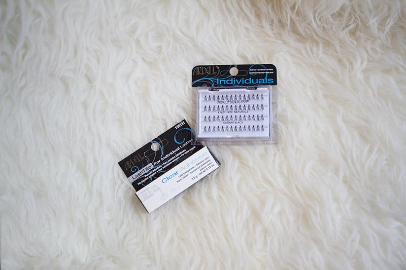 ardell individual lashes and lashtite adhesive