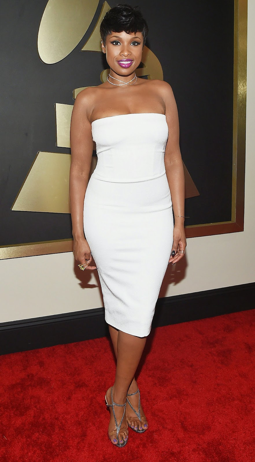 Jennifer Hudson  2015 Grammy Red Carpet
