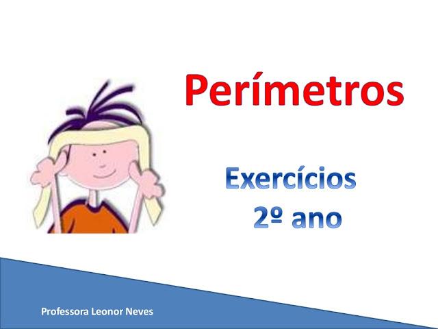 perimetro exercicios