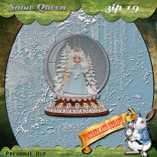 Saturday Snow Queen freebie