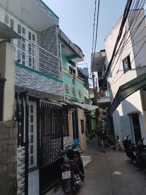 Bán nhà hẻm Bình Đông phường 15 quận 8 giá rẻ chỉ 1,4 tỷ