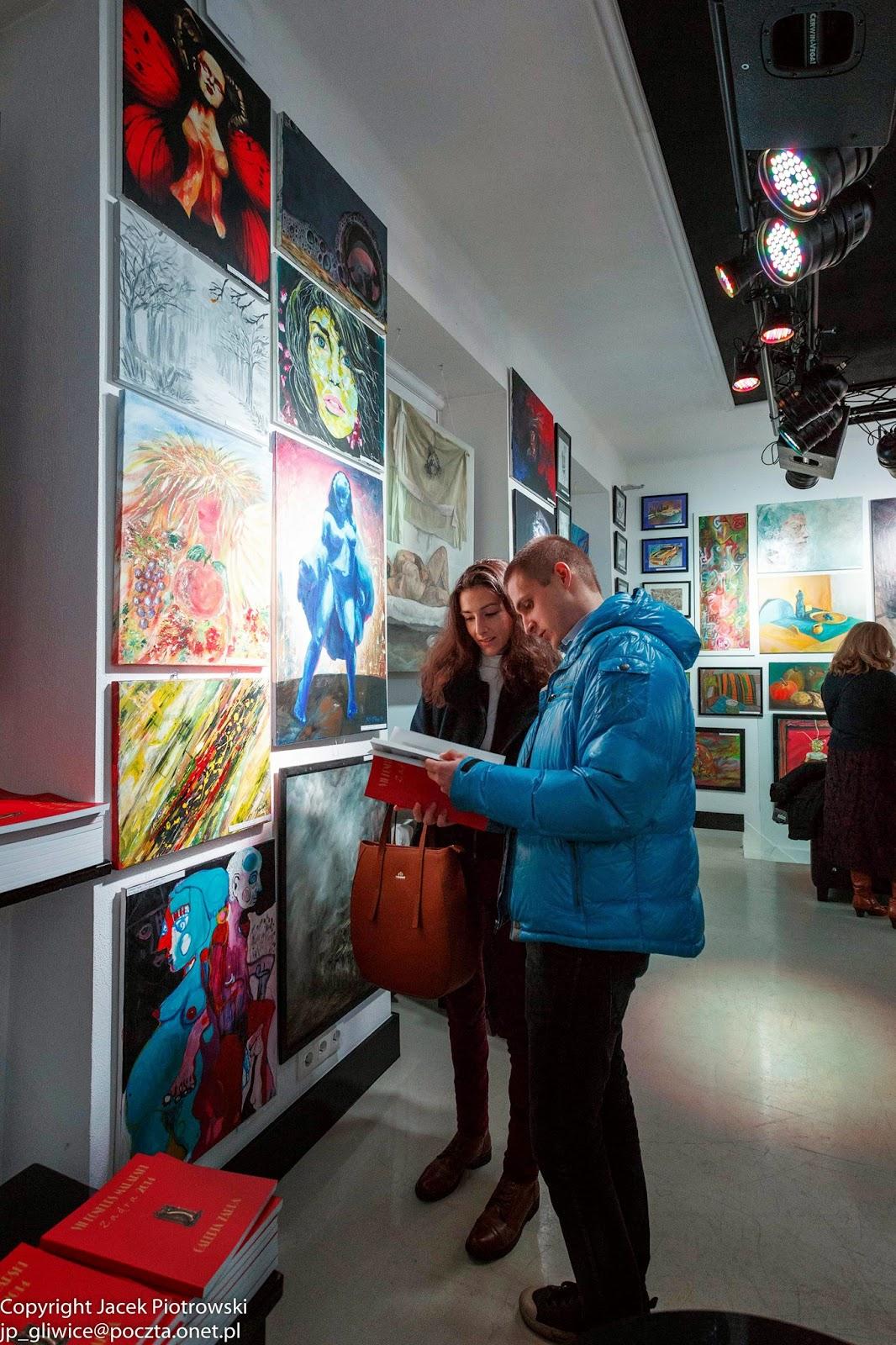 Wernisaż wystawy konkursowej w Galerii Zadra