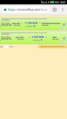 MMM Nigeria PH orders
