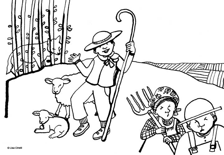 aesops fables and coloring pages - photo#30