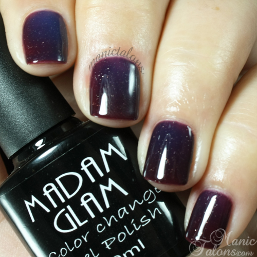 Madam Glam Gel Polish What Color Is The Dress?
