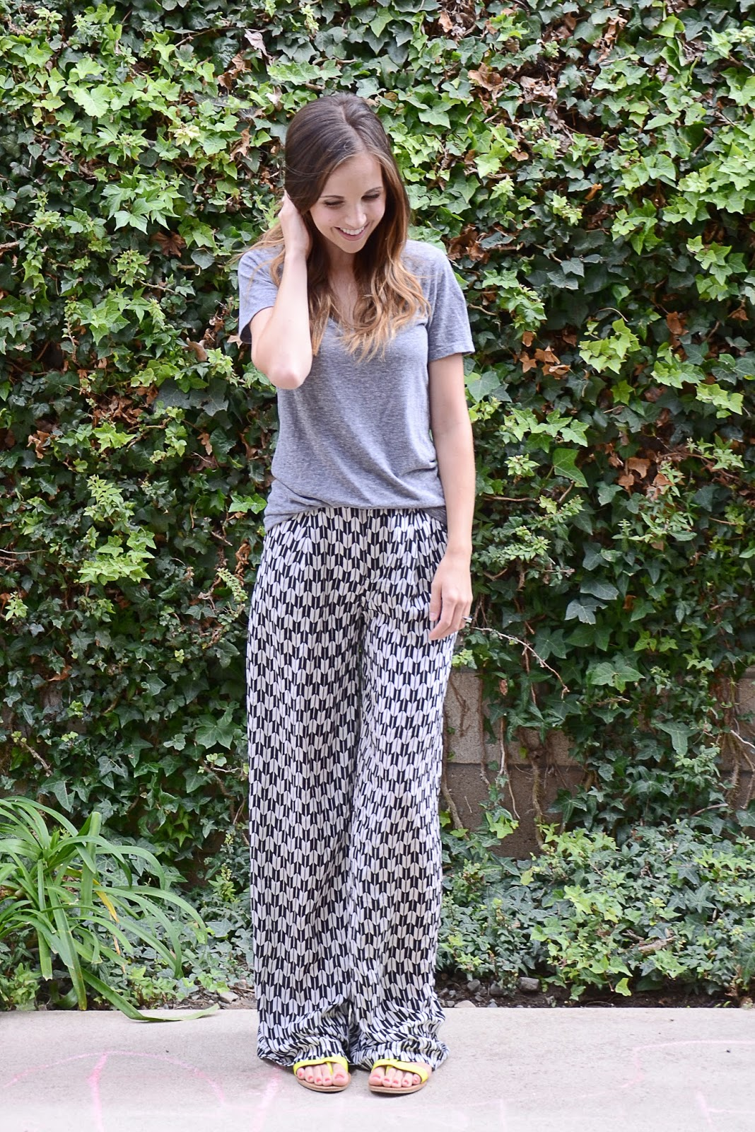 Image result for ways to wear palazzo for girl