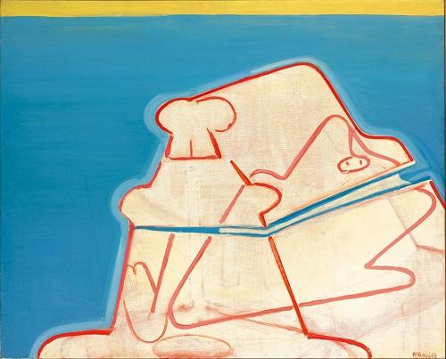 by Maria Lassnig - Baule di fantasmi - 1963-1967