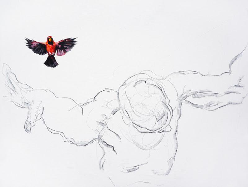 Paintings by Derek Overfield from America.