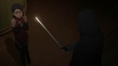 Konfirmasi!! Ini Alasan Sasuke Hampir Membunuh Sarada Di Pass Tower