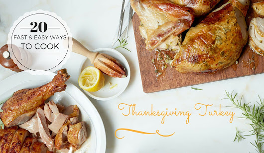 20 fast and easy ways to cook thanksgiving turkey