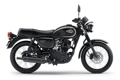 kawasaki w175 adalah motor dengan desain retro modern