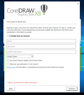 Cara Mengatasi Corel Draw X8 Selalu Minta Login || Gratisan