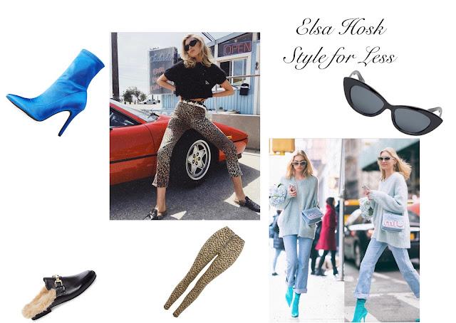 Elsa Hosk Style for Less