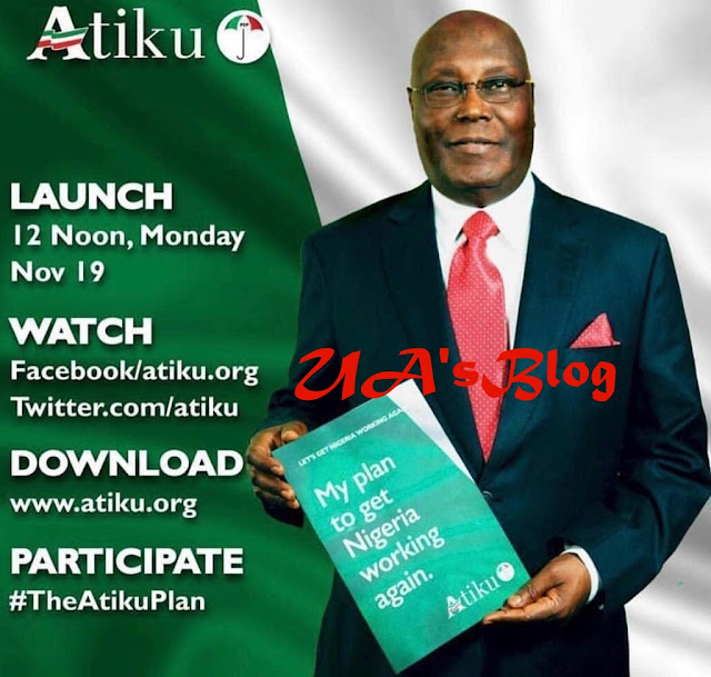 2019: Atiku To Kick-Start Campaign On Monday With 'People's Policy Launch'
