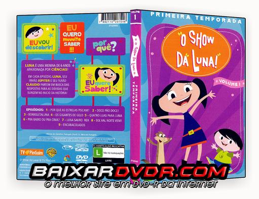 O SHOW DA LUNA – VOLUME 1 (2016) DUAL AUDIO DVD-R OFICIAL