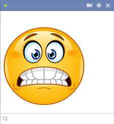 Yikes Facebook Sticker
