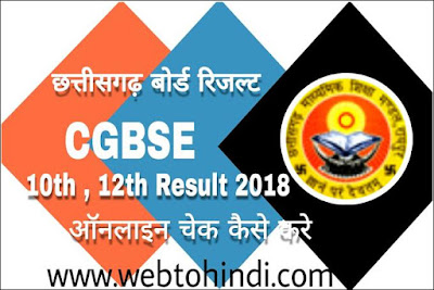 cgbse board result