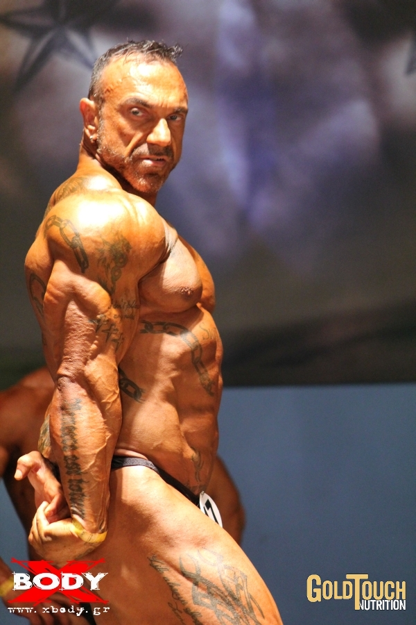 Muscle Lover: Brutal Greek muscle daddy Panagiotis Siotis