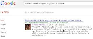 Names girlfriend call yoruba to romantic your 300 Beautiful