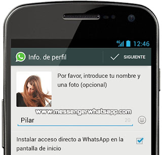 Como instalar WhatsApp en un dispositivo con Android