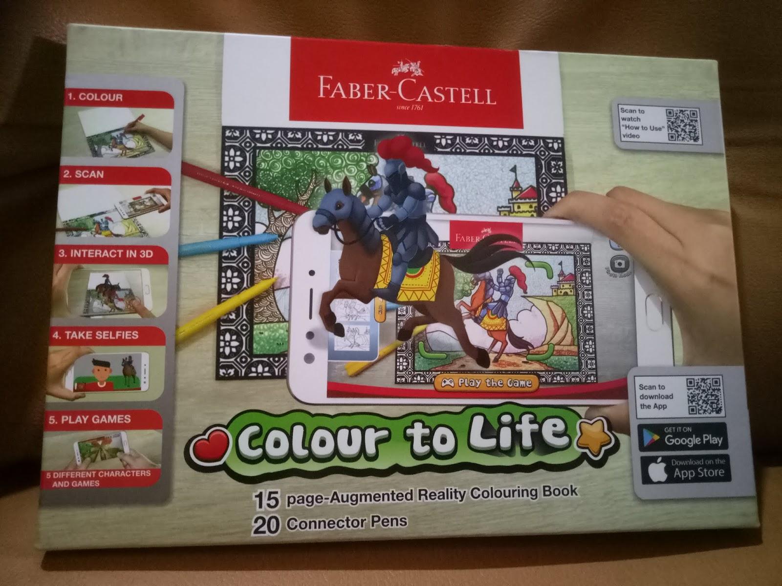 Edugames Dari Faber Castell Gerbang Matahari Colour To Life Paket Games