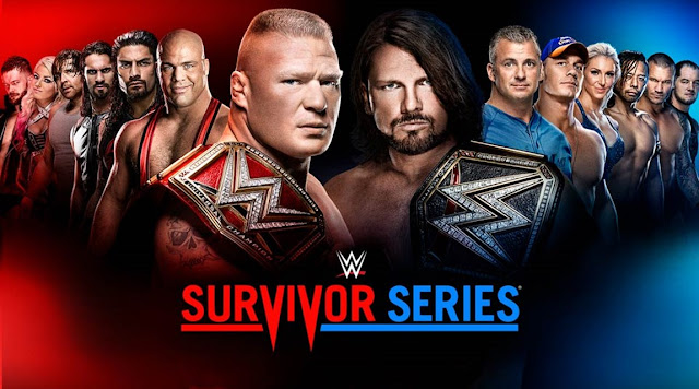 WWE SURVIVOR SERIES 20017