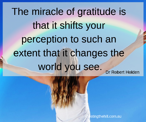 Acting graciously allows us to let go of judgement and expectation and that in turn allows room for gratitude for all that we have in our lives. #grace #gratitude